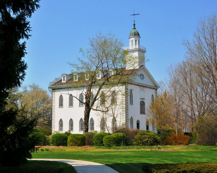 Was there a different ceremony for the Kirtland and Nauvoo Mormon Temples?