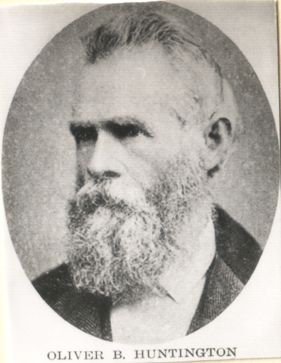 Who was O. B. Huntington in Mormon Church History?