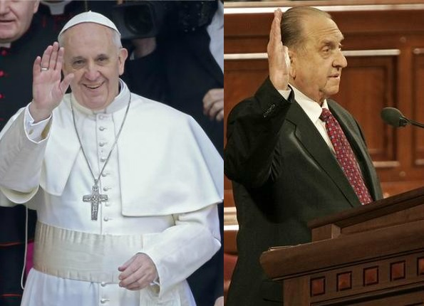 How are the Pope and Mormon prophet different?