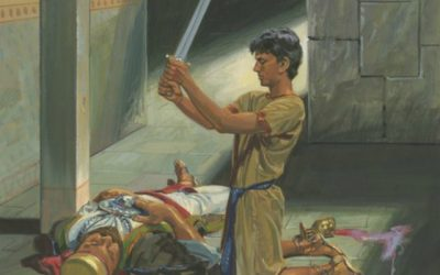 What were Nephi's trials and how did he overcome them?