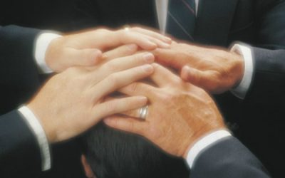 Can a counselor in the stake presidency set apart the Elders Quorum president?