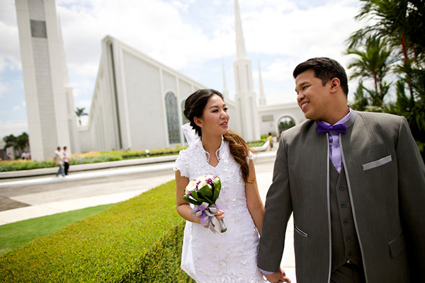 Would it be OK to have a civil marriage with someone who does not believe in the Mormon Church?