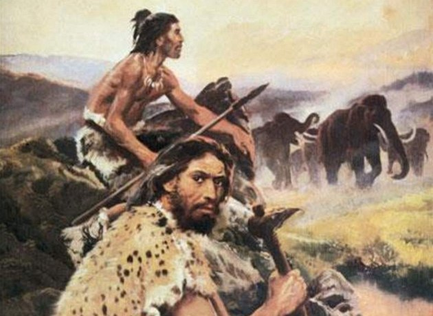 What is the relationship between prehistoric men and Adam?