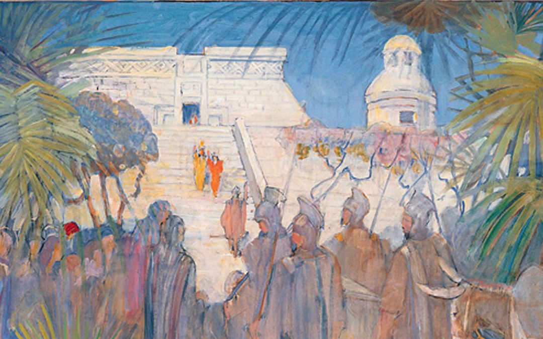 Was there an established Church of Christ in the land of Zarahemla before Alma arrived?