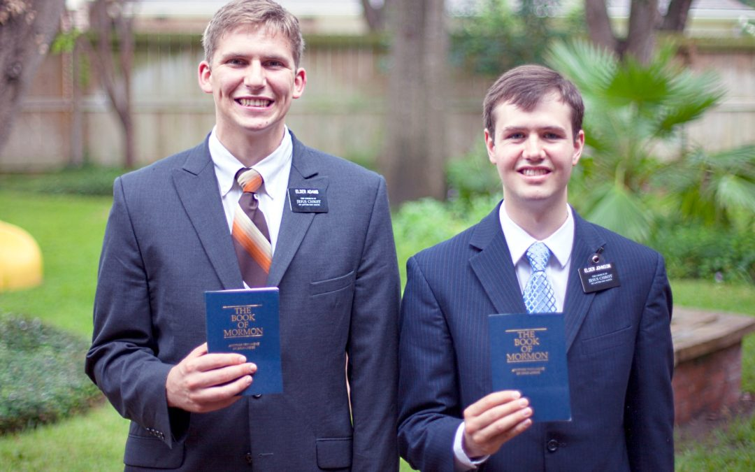 How should Mormon missionaries be addressed and treated while serving their missions?