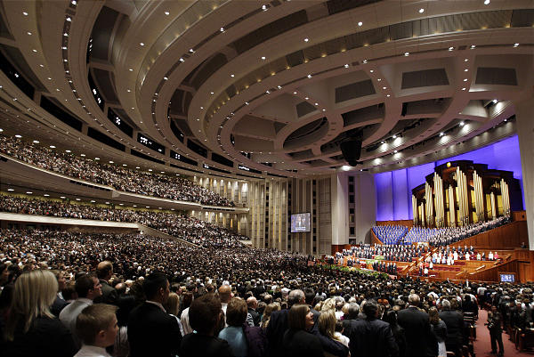 What takes place at a General Conference of The Church of Jesus Christ of Latter-day Saints?