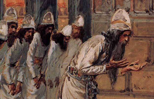 Why were the Levites chosen to be in charge of the temple?