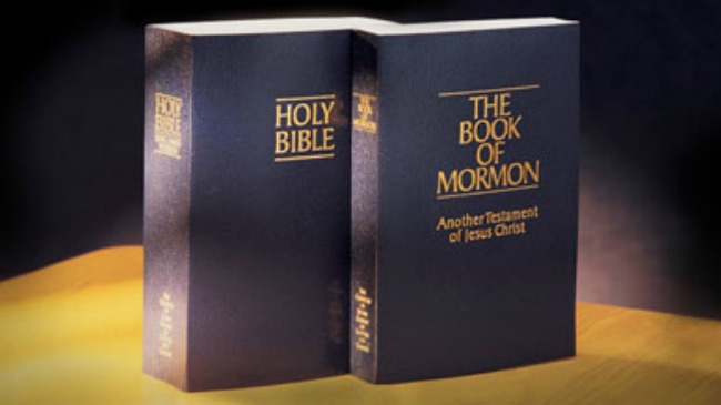 Does the Bible mention the Book of Mormon?