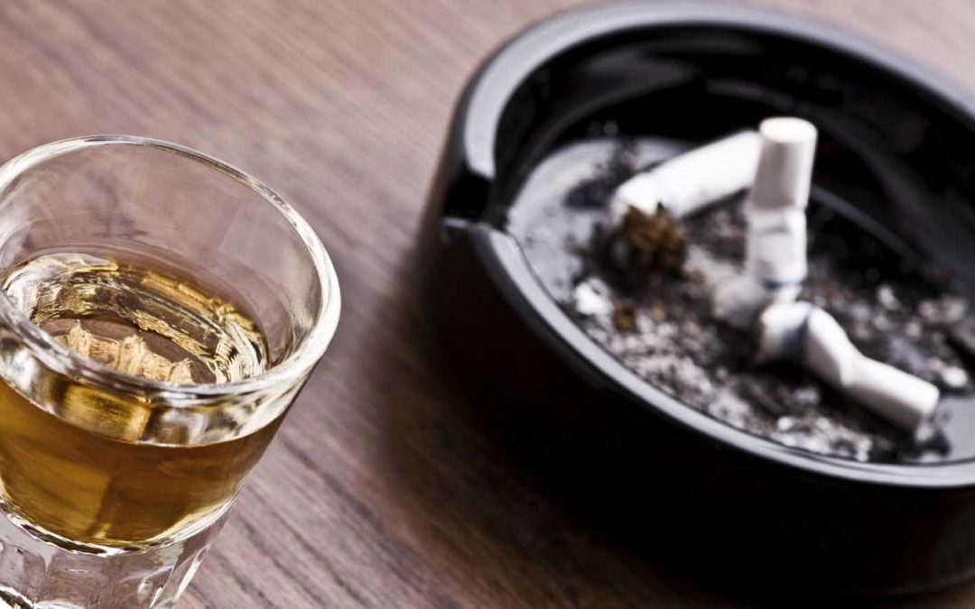 How can I help my husband get over the urge to use alcohol and tobacco?