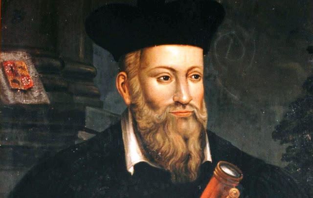 How do you explain Nostradamus and his ability to predict the future?