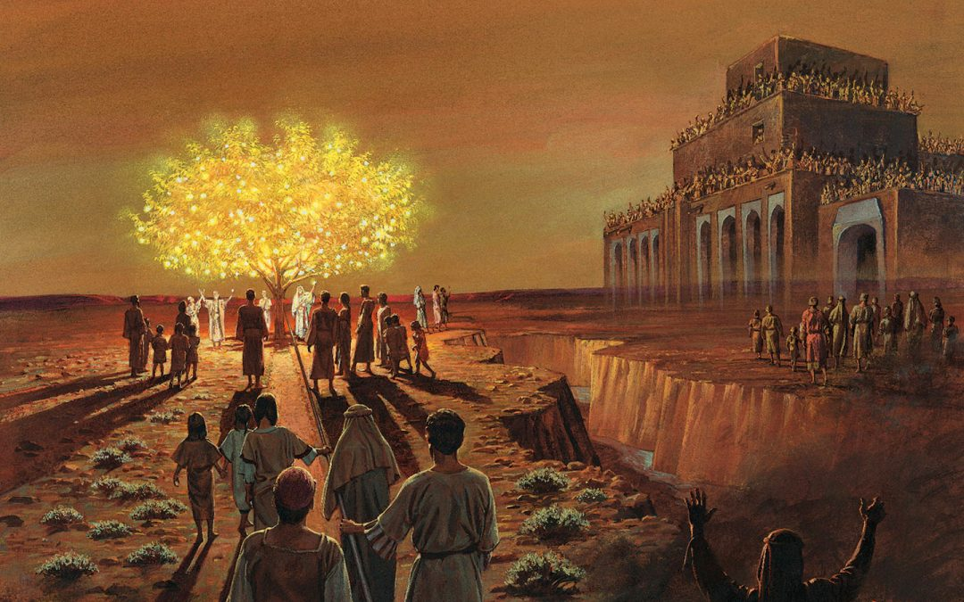 What is the symbolism of the fruit of the tree of life seen in the vision of the prophet Lehi?