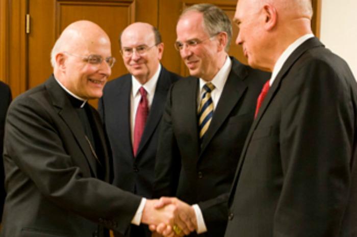 What do Mormons think of Catholics?