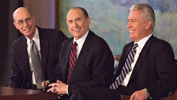 "What is meant by ""chosen by the body"" in the selection of the First Presidency?"