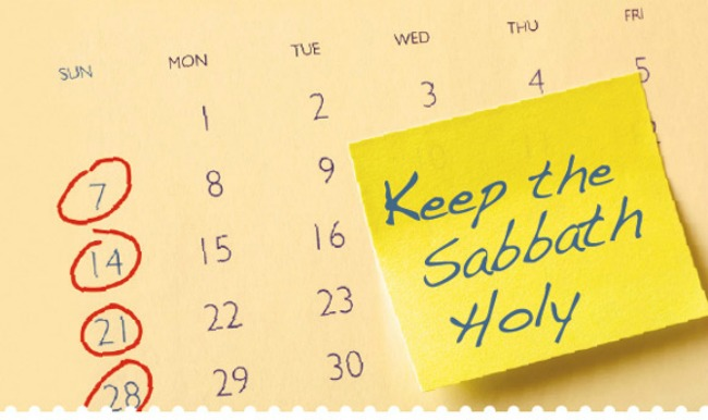 Why do we call  Sunday the Sabbath when Saturday is the last day of the week?