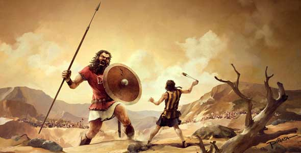 How old was David when he slew Goliath?
