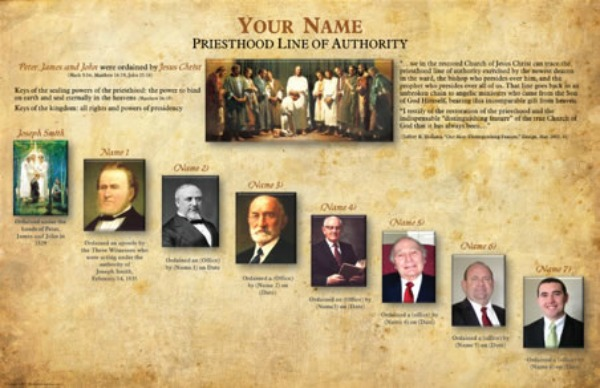 Is it important to know one's priesthood line of authority?