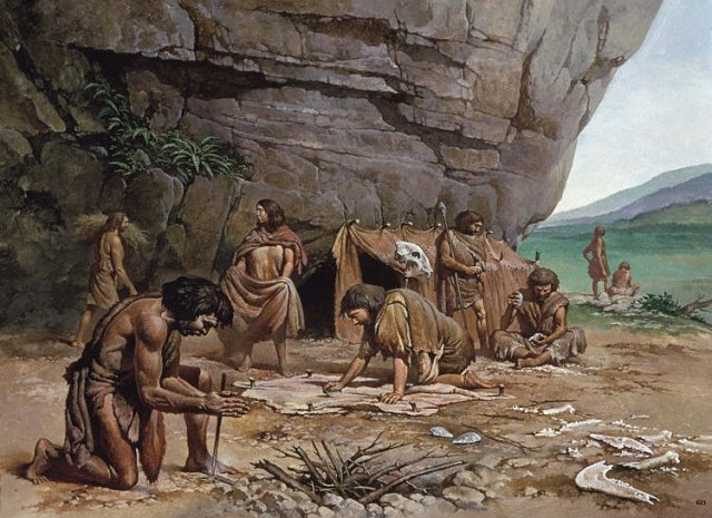 Caveman Questions : Lds church s stance on pre historic man ask gramps