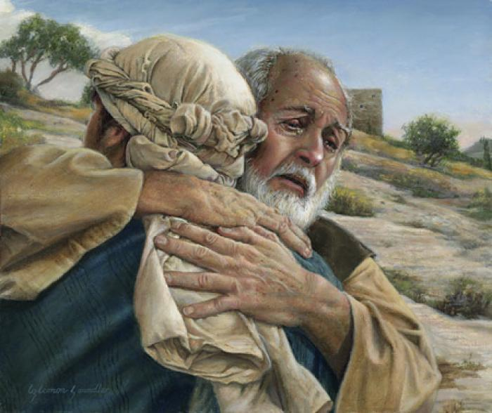 If the prodigal son was forgiven for his riotous living, why would he not be equal to the son who had not sinned?