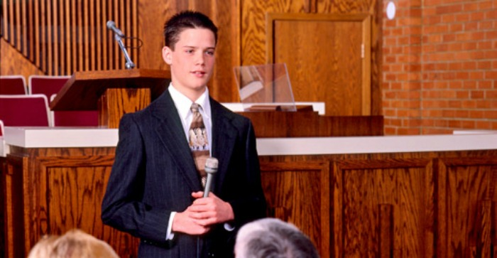 Can Mormons be forgiven of sins by bearing their testimonies?