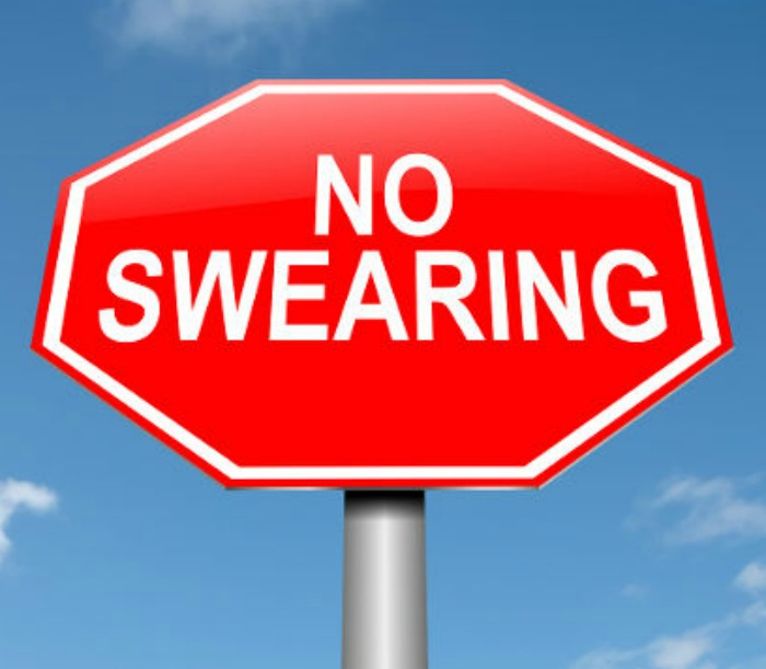 Are substitutions for profanity okay to use?