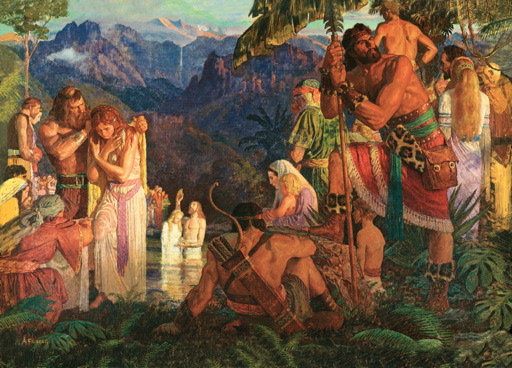 Why does 3 Nephi 18 and 19 chronology of events seem backwards?