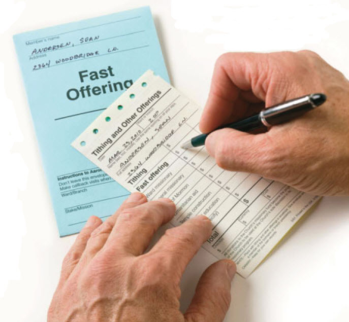 Qa About Lds Tithing And Fast Offerings Ask Gramps