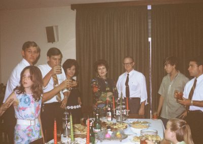 Christmas at Mission Home 1971