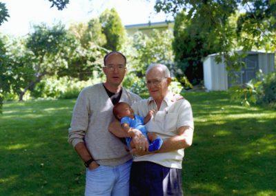Dad, David & Chris