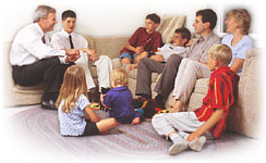 mormon-home teaching
