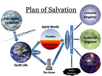 I'm not happy with the way the missionaries are answering an investigators questions about salvation. How would you describe salvation?