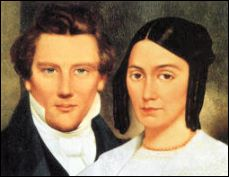 Joseph and Emma Smith Mormon