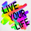 Live your life Mormon Quote