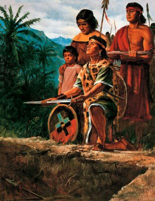 Are the Polynesian people of Lamanite descent?