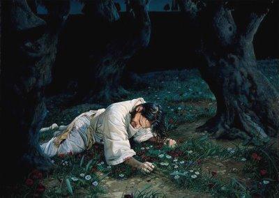 Account of the Garden of Jesus Praying In Gethsemane Lds