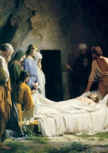 Christ's burial