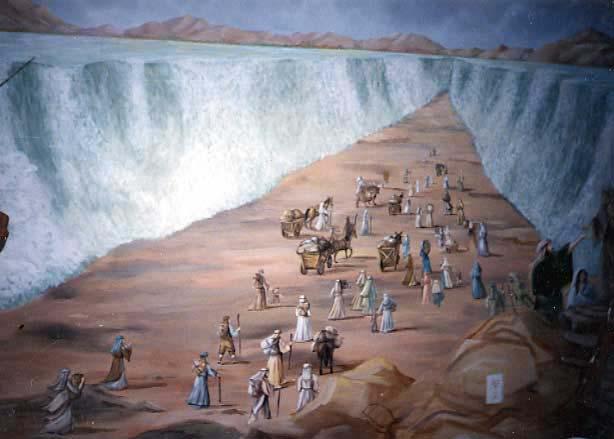 moses parting the red sea mormon