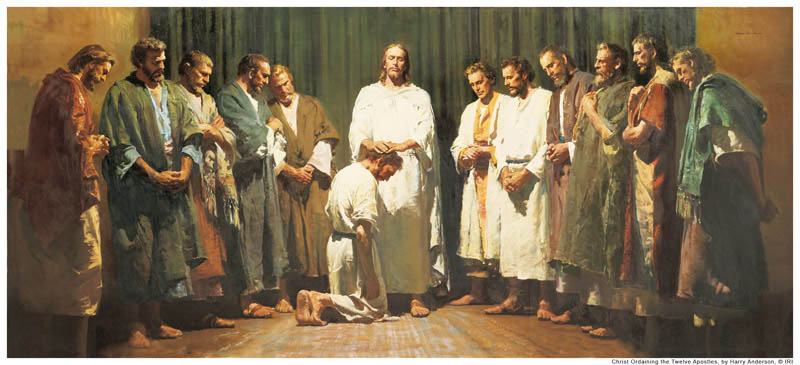 When did Christ give His apostles the Melchizedek Priesthood?
