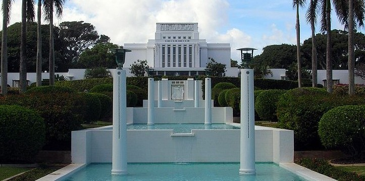 Laie Hawaii Mormon Temple