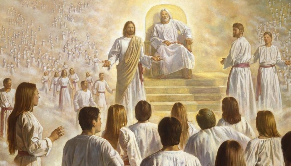 The Grand Council in Heaven Mormon