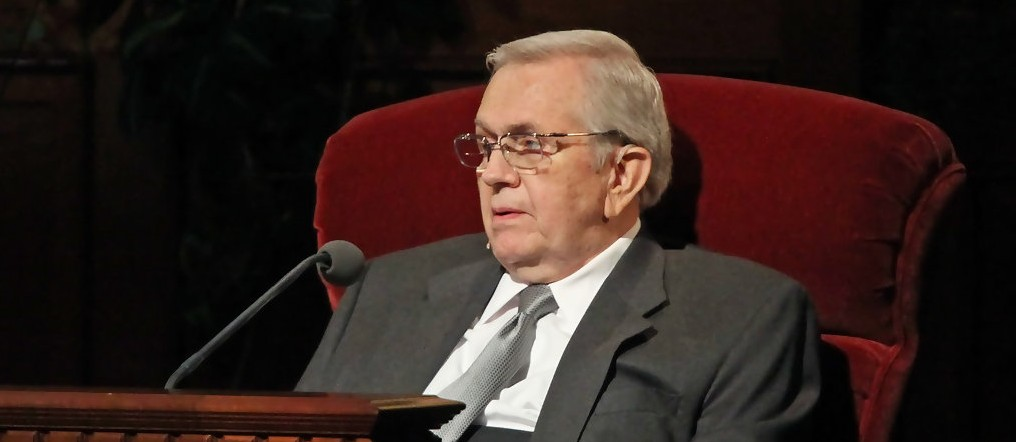 Mormon Apostle Boyd K. Packer