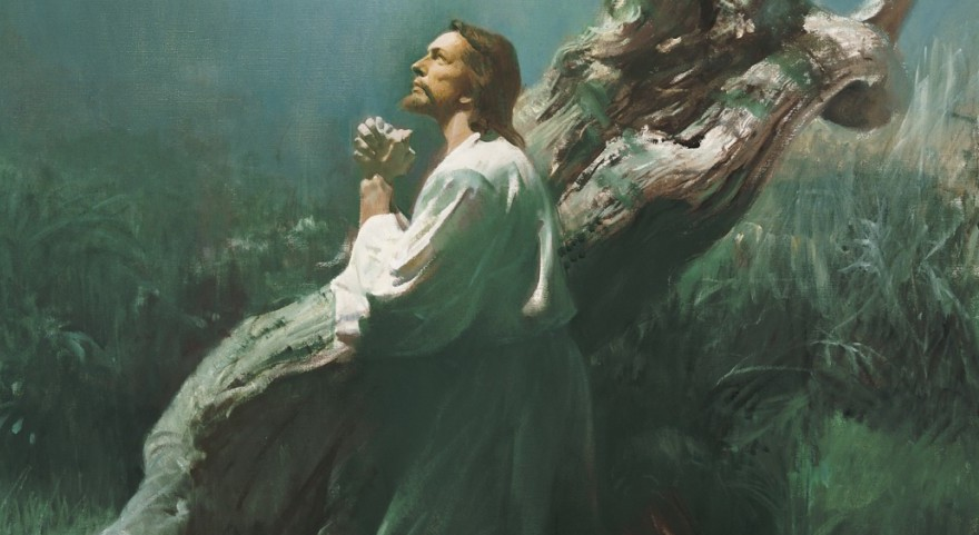 jesus-praying-in-gethsemane