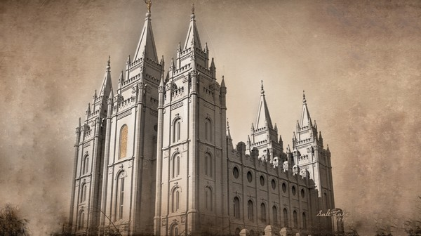 What is the origin of the Salt Lake City Temple?