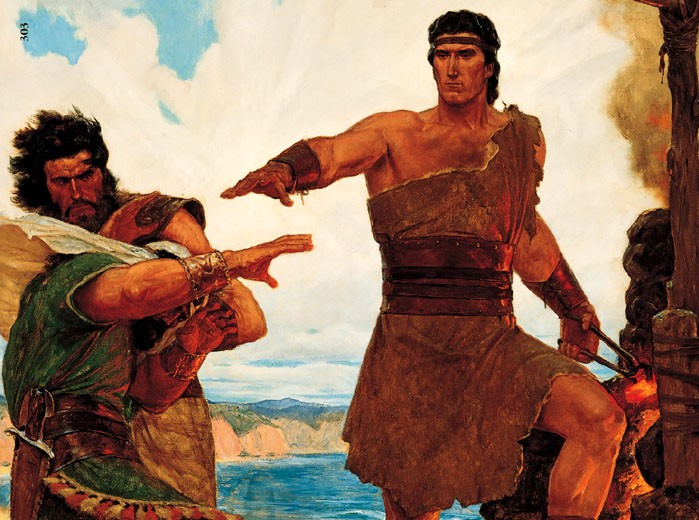 How could Nephi have known what the Savior was praying about when he was not present at the time of his prayer?