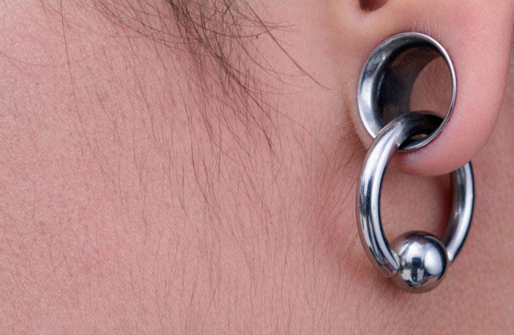 ear gauging