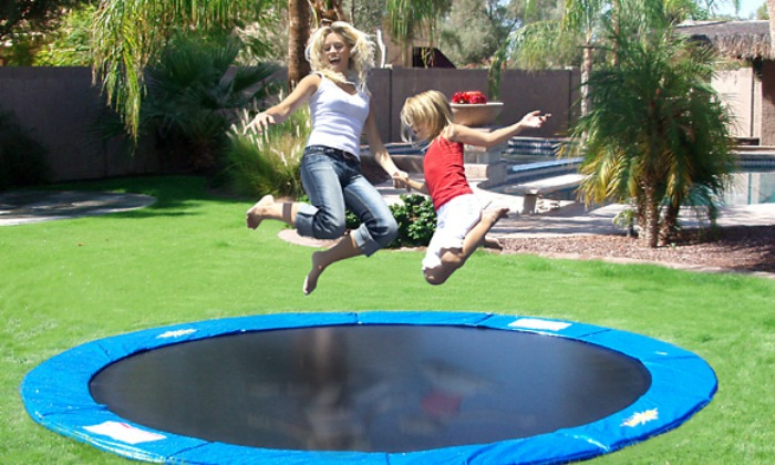 Why do so many Mormons have trampolines?