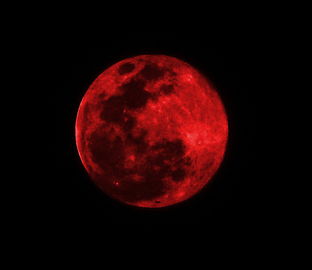 Are the blood moons occurring this year a sign of the times?