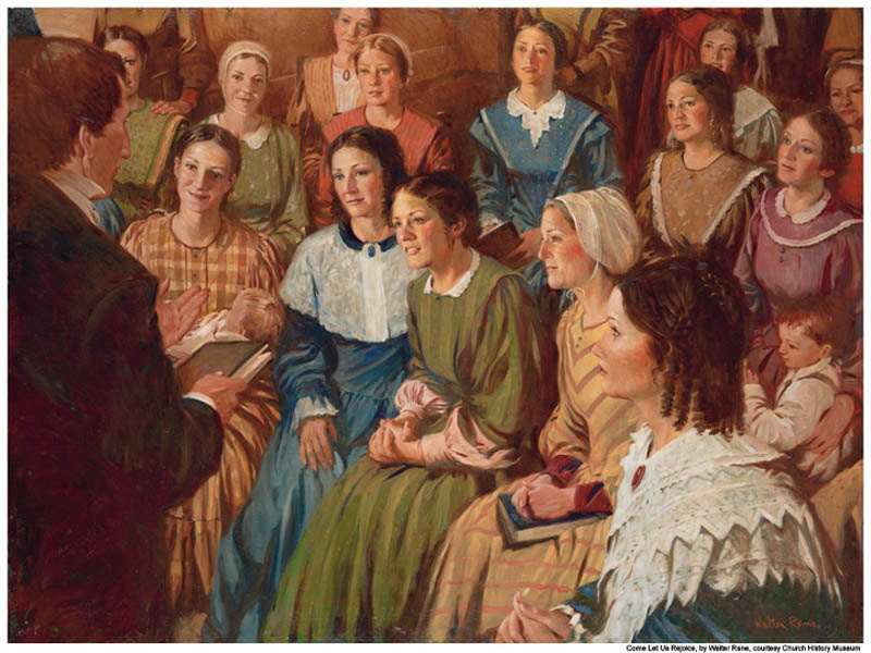 Did women ever hold the Priesthood?