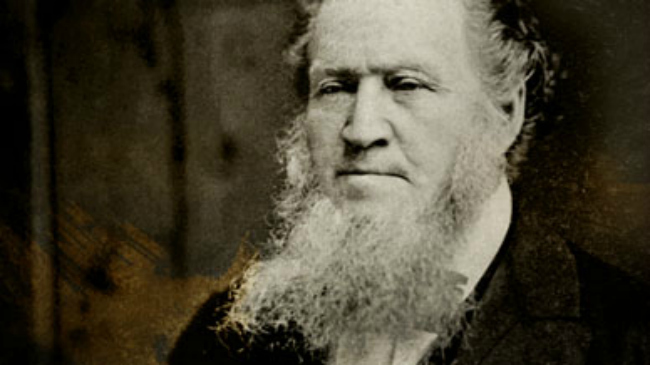 Why did the Mormon Church give Brigham Young such an elaborate funeral?