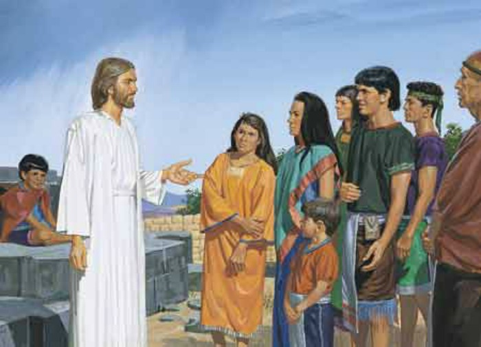 When did Jesus Christ appear to the Nephites on the American continent?