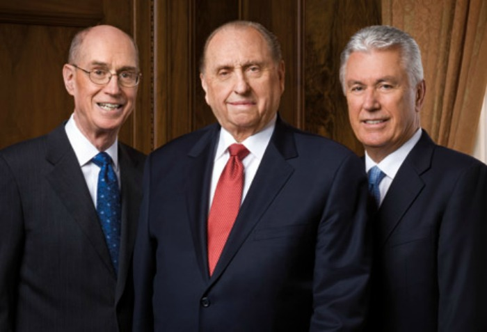 First Presidency of the Mormon Church